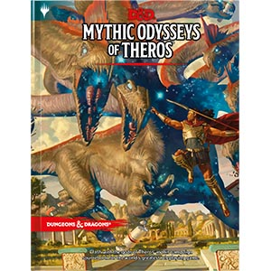 Dungeons and Dragons 5th Ed: Mythic Odysseys of Theros HC (Standard Ed)