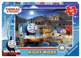 Thomas and Friends: Night Work Puzzle - 60 Pieces
