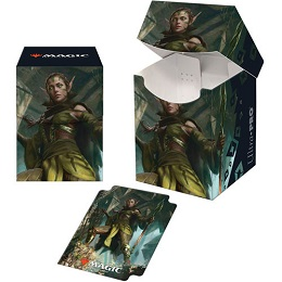 Deck Box: Magic the Gathering: Zendikar Rising: Nissa of Shadowed Boughs V3
