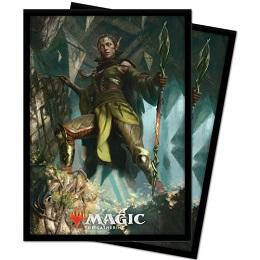 Deck Protector: Magic the Gathering: Zendikar Rising: Nissa of Shadowed Boughs V3 (100 Sleeves)