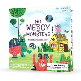 No Mercy for Monsters Board Game