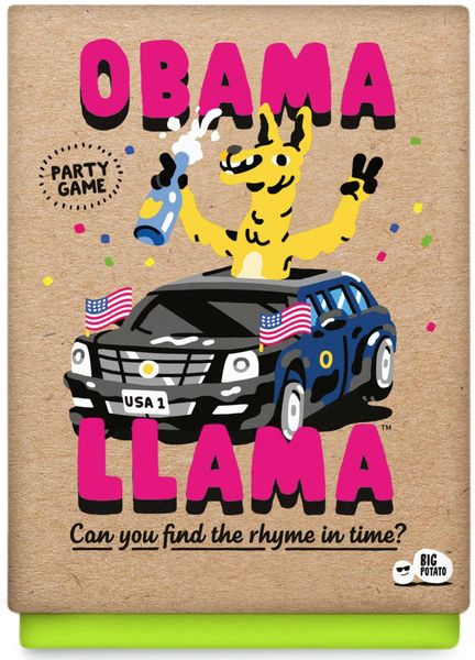 Obama Llama Card Game - USED - By Seller No: 14036 Andrew Reyes