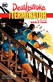 Deathstroke: The Terminator Volume 5: World Tour TP