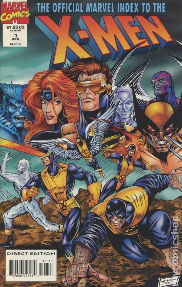 The Official Marvel Index to the X-Men (1994 2nd Series) Complete Bundle - Used
