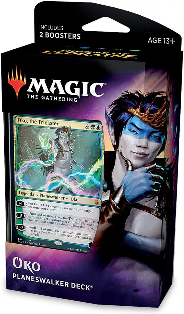 Magic The Gathering: Throne of Eldraine: Planeswalker Deck - Oko