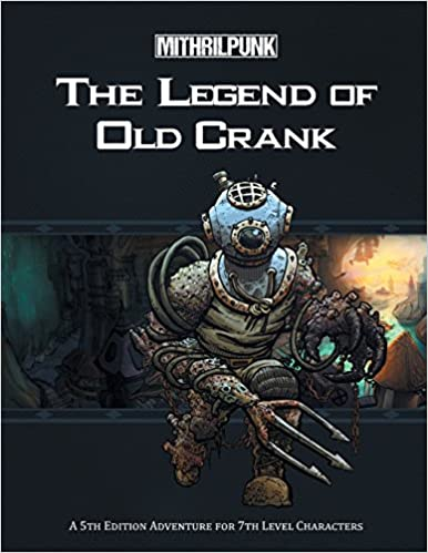 The Legend of Old Crank -Used