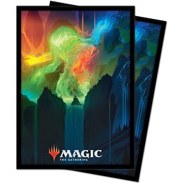 Deck Protector: Magic the Gathering: Zendikar Rising: Omnath, Locus of Creation V4 (100 Sleeves)