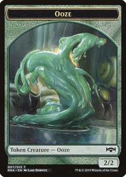 Ooze Token - Green - 2/2