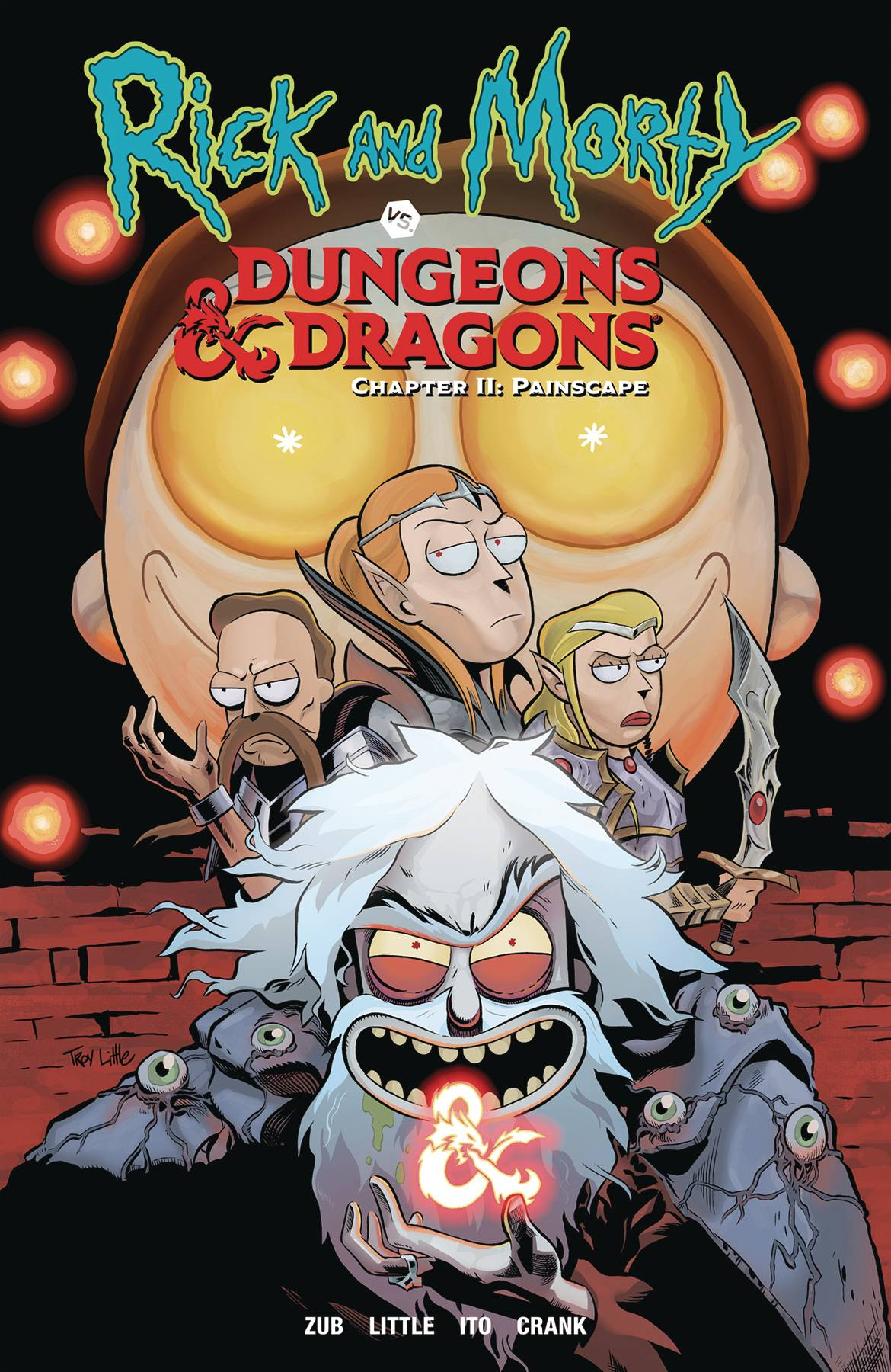 Rick and Morty vs Dungeons and Dragons Volume 2: Painscape TP