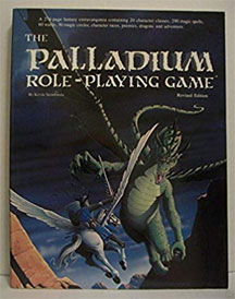 Palladium: Role-Playing Game First Edition Revised - Used