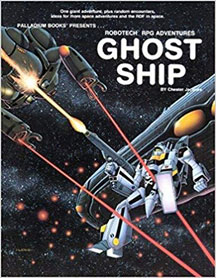 Robotech RPG Adventures: Ghost Ship - Used