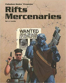 Rifts: Mercenaries - Used