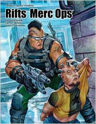 Rifts: Merc Ops Role Playing Game - Used
