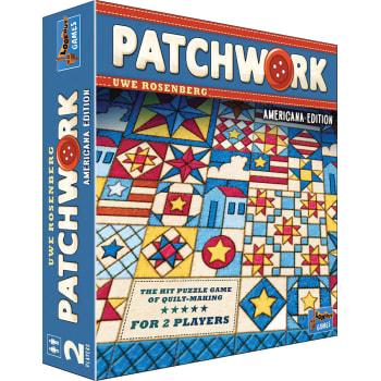 Patchwork Americana Board Game