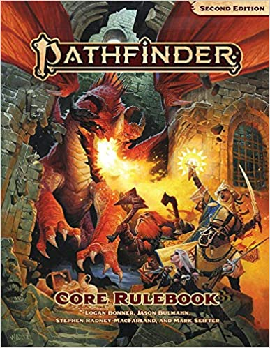 Pathfinder Role Playing Game 2nd Edition Core Rulebook - Used