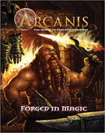 Arcanis Role Playing: Forged in Magic - USED