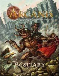 Arcanis Roleplaying Games: Bestiary Vol 1 - Used