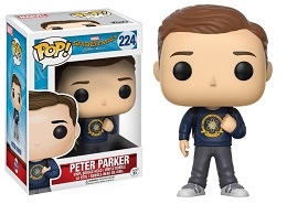 Funko POP: Spider-Man Homecoming: Peter Parker- Used