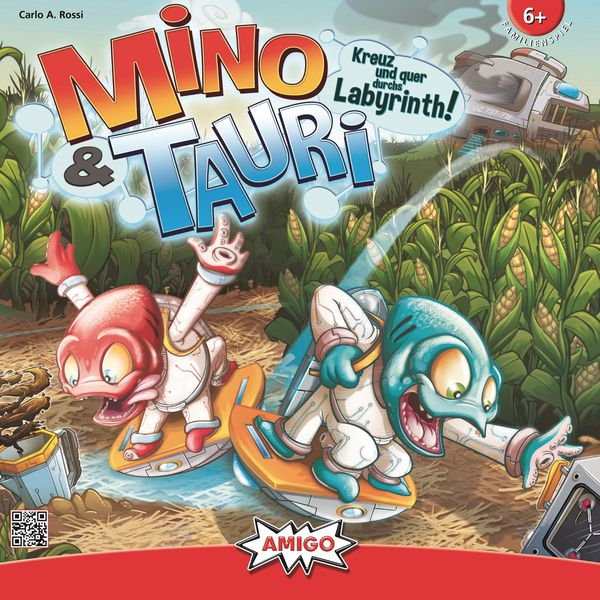 Mino and Tauri Board Game
