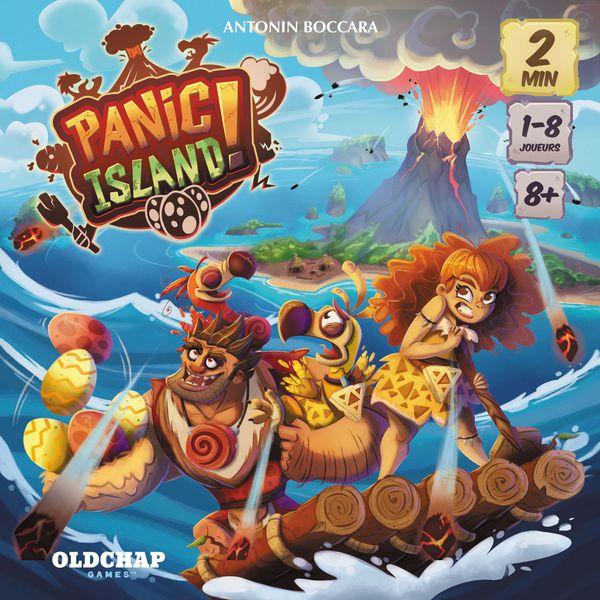 Panic Island Board Game