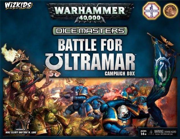 Warhammer 40K: Dice Masters: Battle for Ultramar Campaign Box