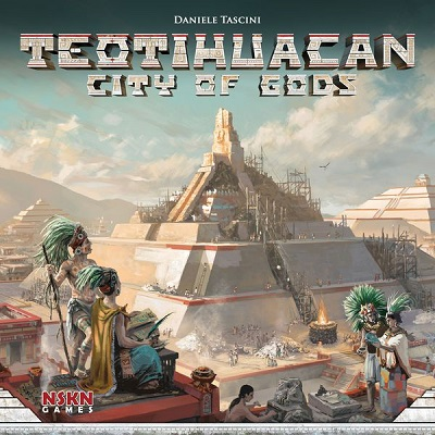 Teotihuacan: City of Gods Board Game
