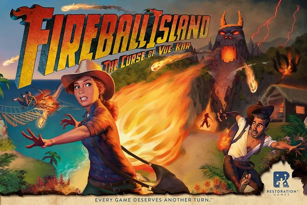 Fireball Island: The Curse of Vul Kar Board Game