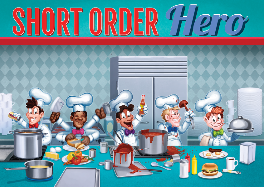 Short Order Hero Card Game