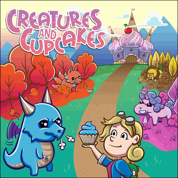 Creatures and Cupcakes Board Game