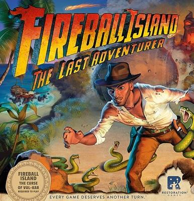 Fireball Island: Last Adventurer Board Game