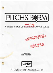 Pitchstorm: Main Game Card Game