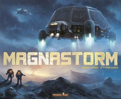 Magnastorm Board Game