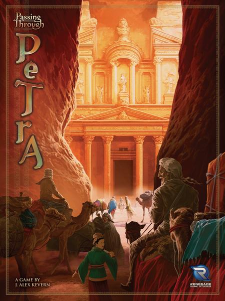 Passing Through Petra Board Game