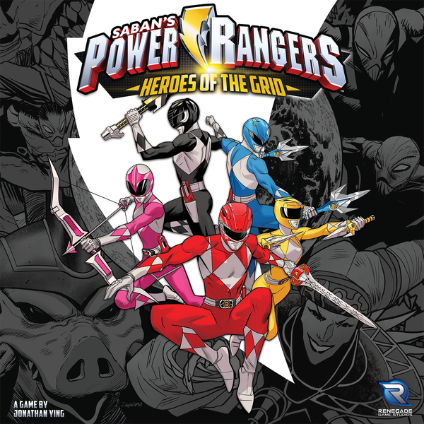 Power Rangers: Heroes of the Grid Board Game