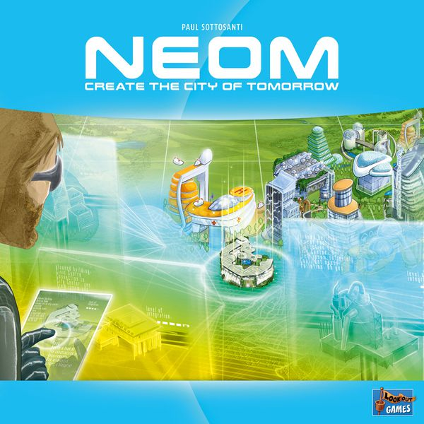 Neom: Create the City of Tomorrow Board Game