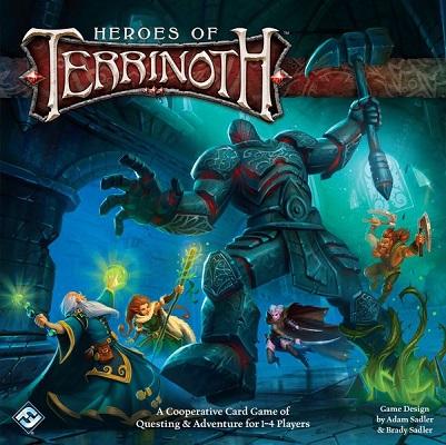 Heroes of Terrinoth Board Game