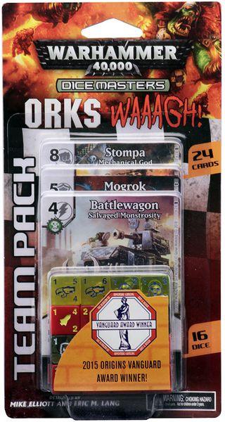 Warhammer 40k Dice Masters: Orks Waaagh Team Pack