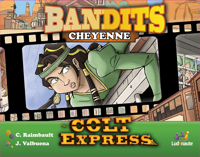Colt Express Bandit Pack: Cheyenne Expansion