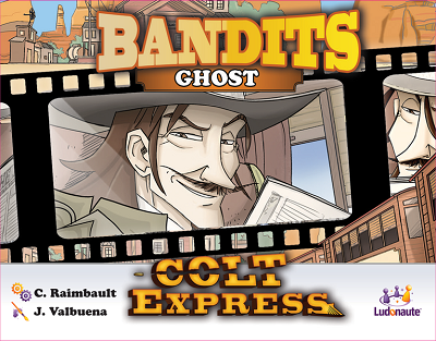 Colt Express Bandit Pack: Ghost Expansion