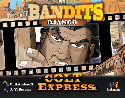 Colt Express Bandit Pack: Django Expansion