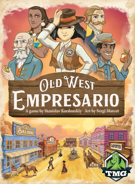 Old West Empresario Card Game