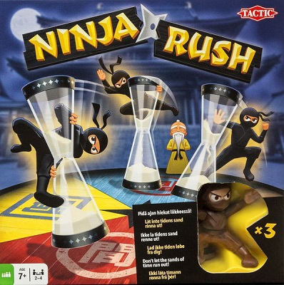 Ninja Rush Card Game