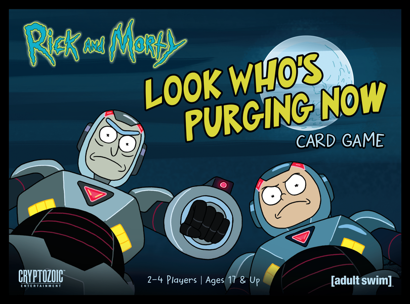 Rick and Morty: Look Whos Purging Now Card Game