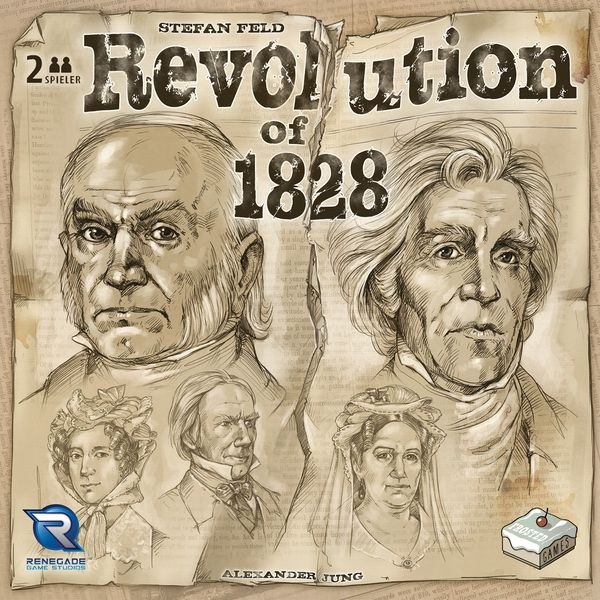 Revolution of 1828 Board Game