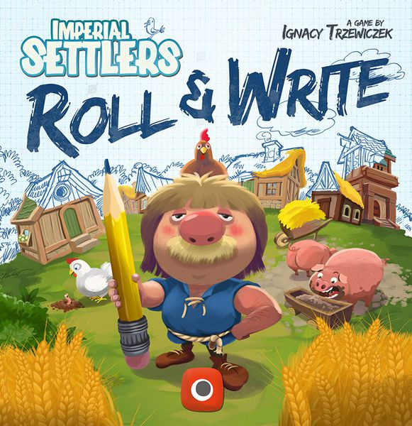 Imperial Settlers: Roll and Write Dice Game