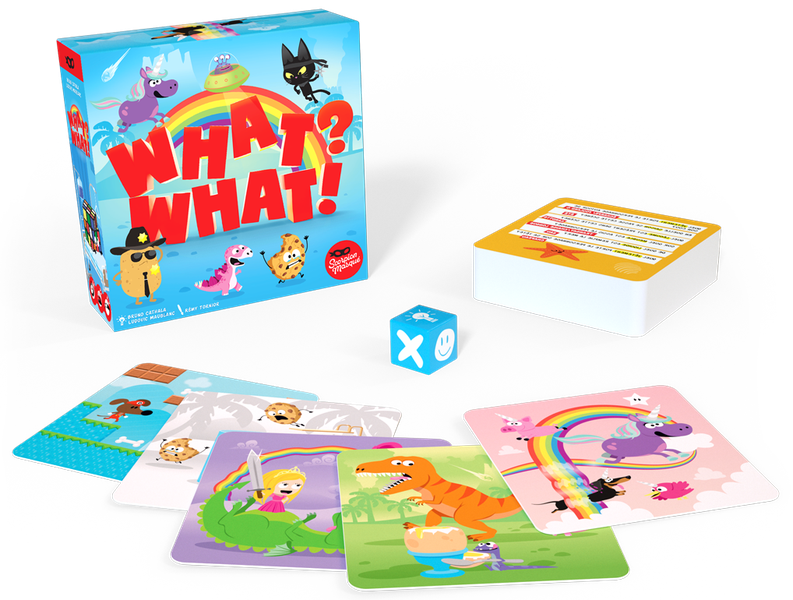 What? What! Card Game