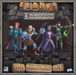 Clank! Legacy: Acquisitions Incorporated Upper Management Pack Expansion