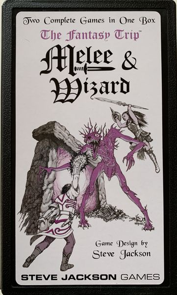 The Fantasy Trip: Melee and Wizard Board Game