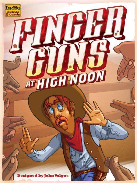 Finger Guns at High Noon Board Game