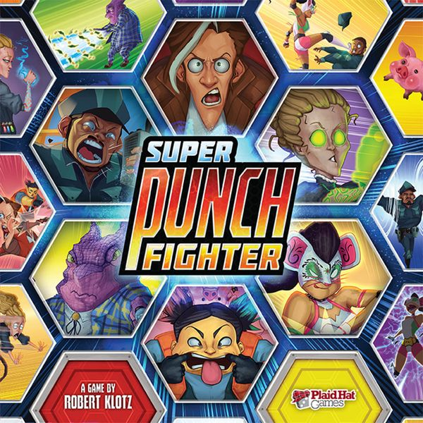 Super Punch Fighter Board Game